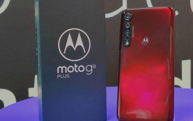 O Moto G8 Plus tem um novo recurso de filmagens