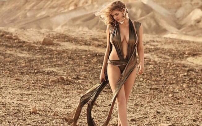 Kate Upton é eleita a mulher mais sexy do mundo