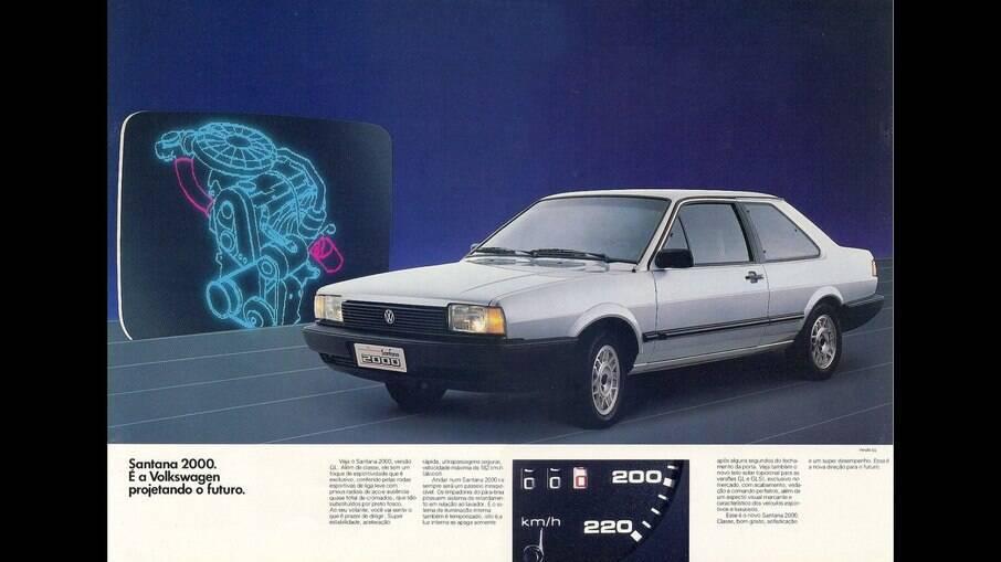 Em 1989 chegou a opção do motor 2.0 (2000), opcional para a CL. Rendia 112 cv e 17,5 kgfm (álcool)