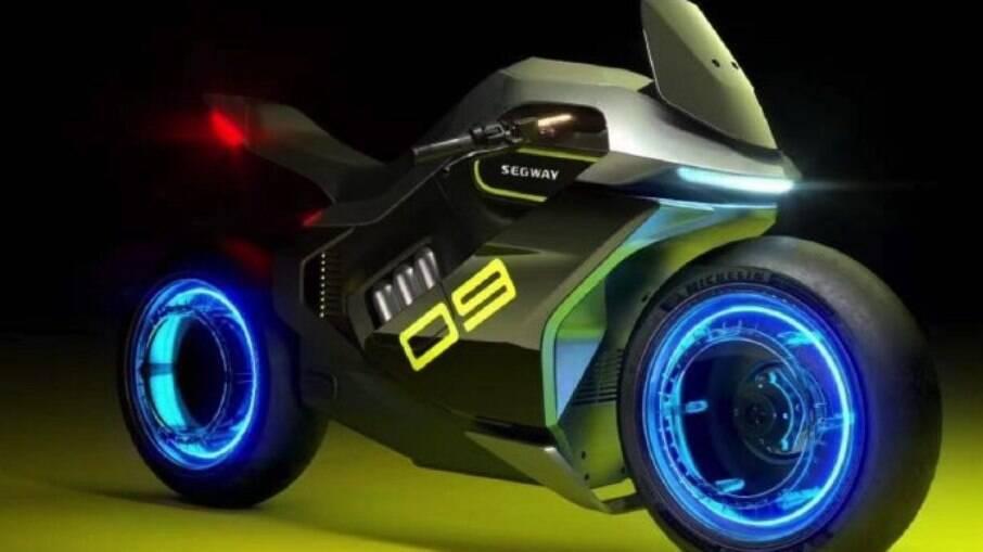Segway Apex2: luzes coloridas nas rodas, como no filme