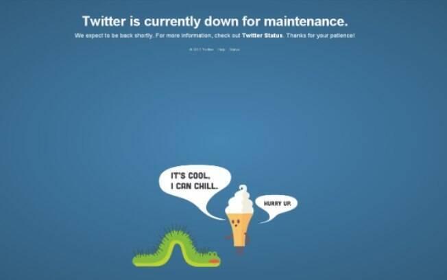 Twitter saiu do ar na tarde desta terça-feira (11) e preocupou usuários da rede social