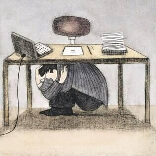 Timidez e insegurança frequentemente dificultam a exposição de ideias