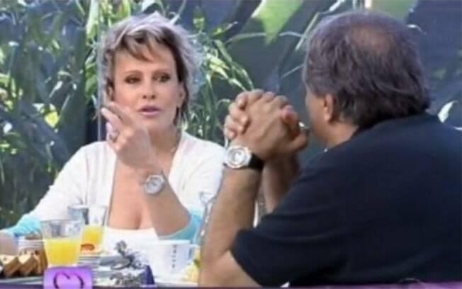 Dennis Carvalho e Ana Maria Braga