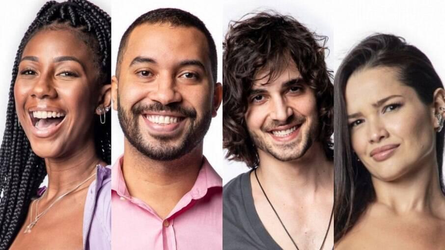 Camilla de Lucas, Gilberto, Fiuk e Juliette ainda estão na casa mais vigiada do Brasil