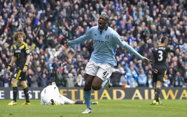 Companheiro de time de Agüero, Yaya Touré  ganha 13 milhões de euros anuais