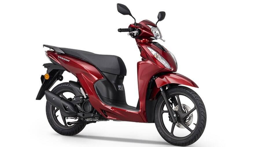 Honda Vision 110: primo europeu do SH 150 faz sucesso entre os jovens