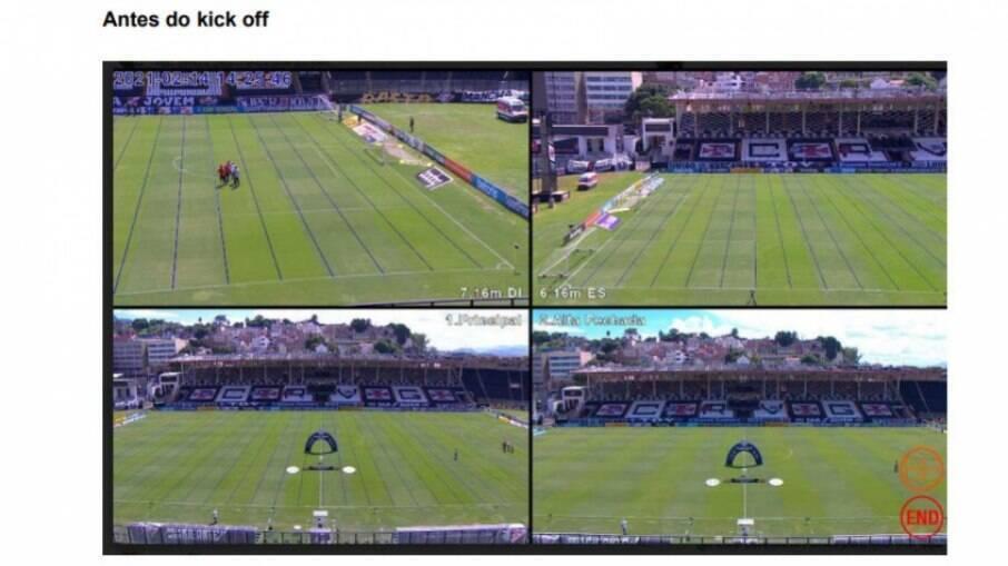 Falha do VAR em Vasco x Inter vem causando polêmica