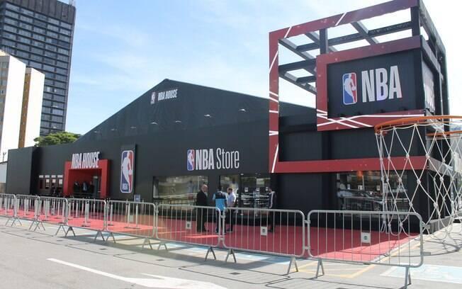 NBA House 2019 abre em São Paulo no próximo dia 30 de maio