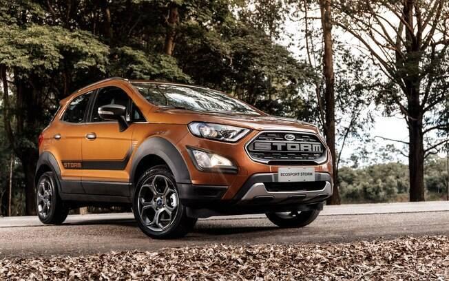 Ford EcoSport Storm é a versão topo de linha do primeiro SUV compacto vendido no Brasil, rival do VW T-Cross