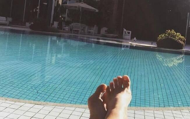 A mansão de Xuxa já apareceu em vários cliques da artista, como nesta foto publicada em seu Instagram