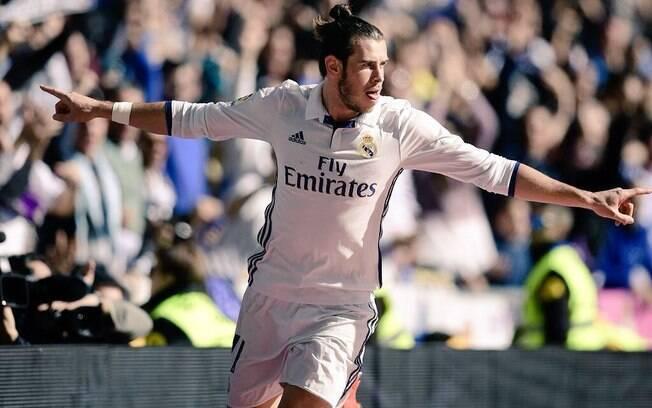 Gareth Bale, do Real Madrid, é considerado o jogador mais veloz do mundo