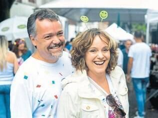Bye bye Carnaval: Luiz Flávio Esteves e Simone Caporali