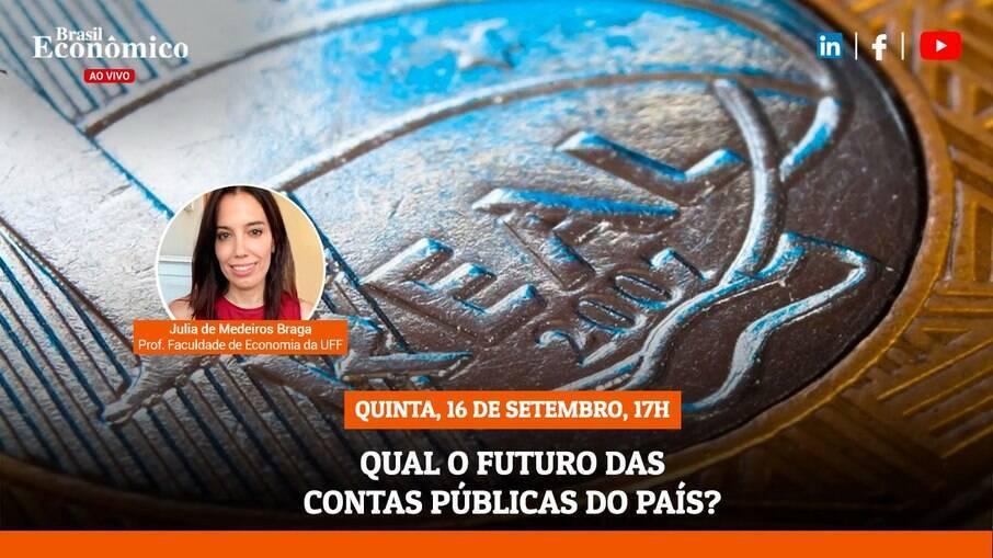 Live do Brasil Econômico desta quinta-feira (16) recebe a economista Julia Braga
