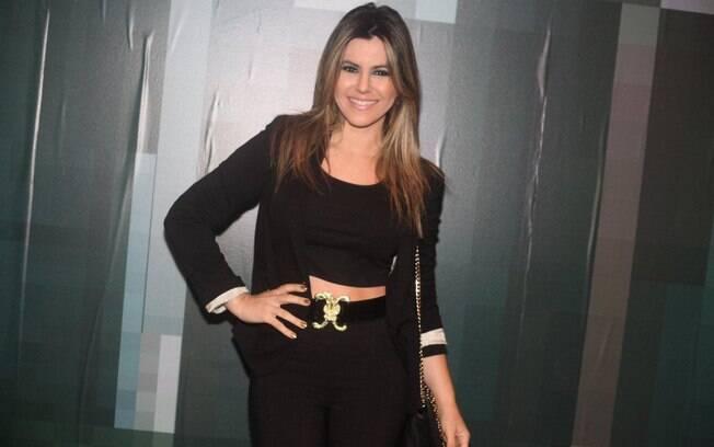 Tânia Oliveira no SPFW nessa quarta-feira (30)