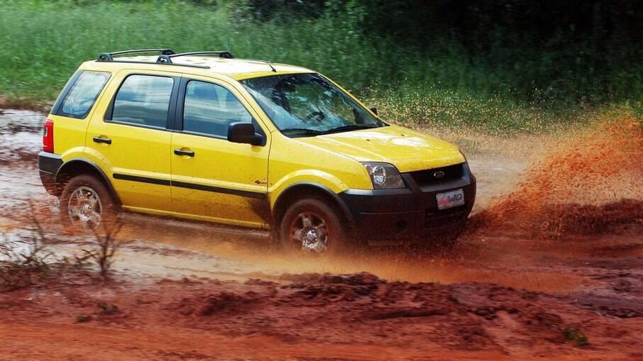 Ford EcoSport inaugurou a categoria dos SUVs compactos dez anos antes de Jeep Renegade, Honda HR-V e Nissan Kicks
