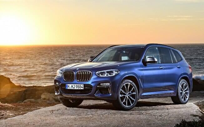 O novo BMW X3 é fruto de um pesado investimento da marca, para atender a grande demanda por SUVs
