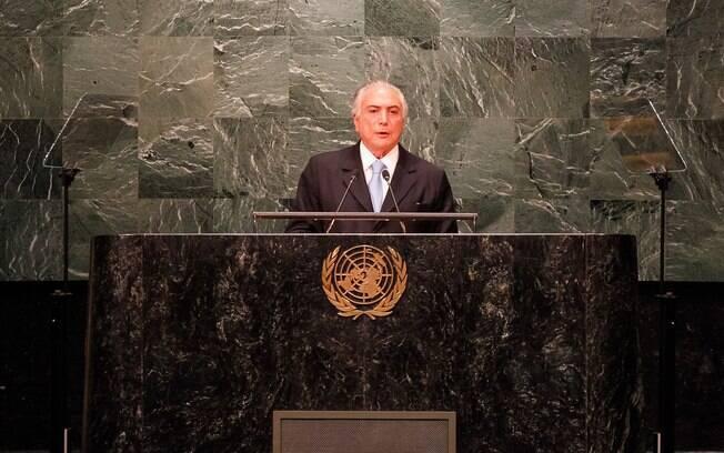 Brasil: Temer destacou a abertura do País  para a diversidade de pessoas em seu discurso