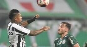 Santos perde para o Palmeiras e está eliminado