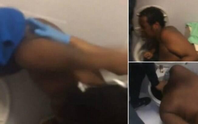 Estuprador teve a cabeça forçada contra privada na Inglaterra