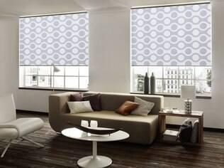 As persianas oferecem maior controle de luz e praticidade no momento da limpeza