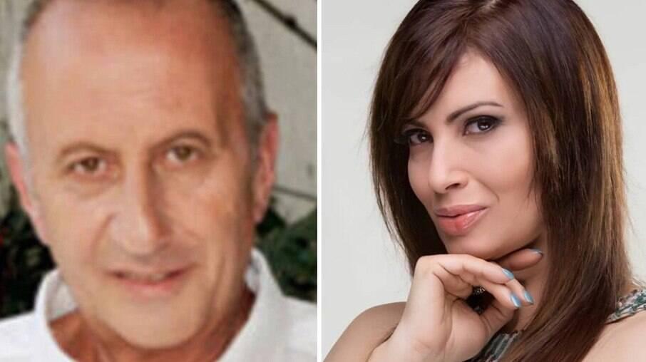 Roberto Innocente e Isadora Ribeiro