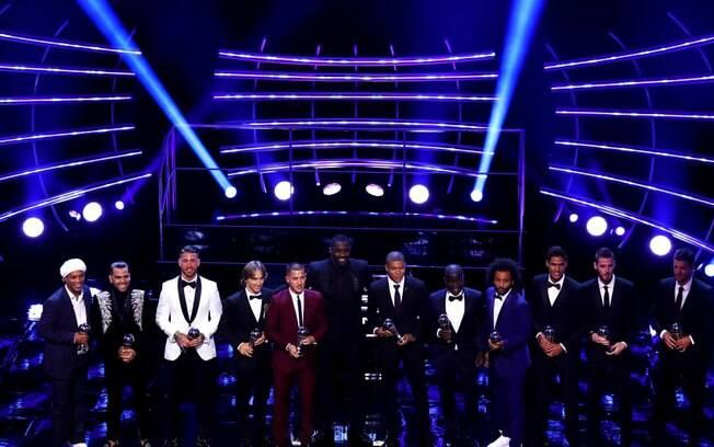 Os melhores jogadores em cada posição da última temporada, segundo a Fifa