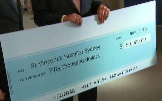 O australiano ficou conhecido no país após ganhar três vezes na loteria em um mês e doar parte do valor