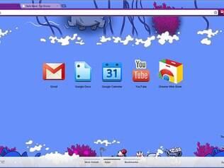 Temas de fundo deixam Chrome mais colorido