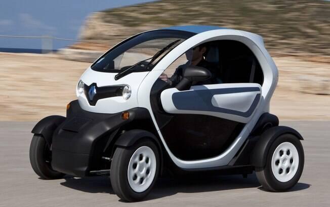 Renault Twizy representa uma solução inteligente para resolver o problema do trânsito nas grandes cidades
