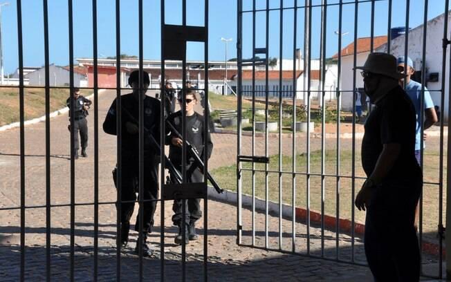 O presídio de Alcaçuz, no Rio Grande do Norte, que registrou caso de canibalismo durante o ano e é alvo de investigação de pagamento de propina