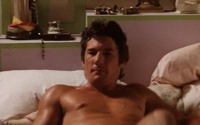 Richard Gere em cena de nudez no filme
