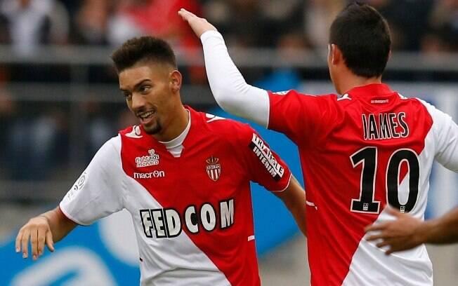 Carrasco fez os dois gols do Monaco diante do Sochaux