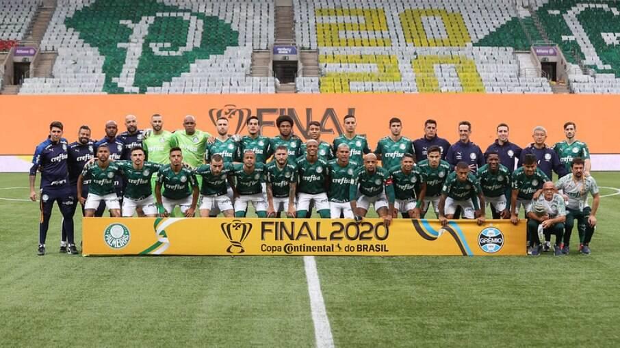 Palmeiras venceu o Grêmio e conquistou a Copa do Brasil