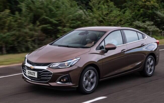 Chevrolet Cruze 2020 se enquadra melhor, a partir de agora, nas regulamentações de segurança