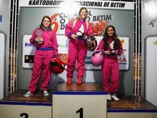 Mariana Soares, do Ponto da Prata, largou na última posição e ainda venceu a prova