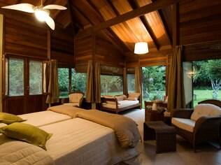 No coração da floresta: lodge foi cenário da lua de mel amazônica de Estela e Fernando