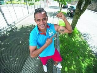 Conjunto.  Tiago Azulão diz que seu trabalho não seria possível se não fosse a cooperação de todos os seus companheiros e do treinador Leonardo Condé