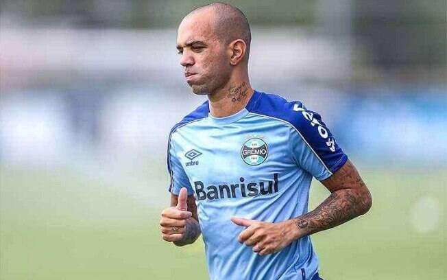 Diego Tardelli dá adeus ao Grêmio