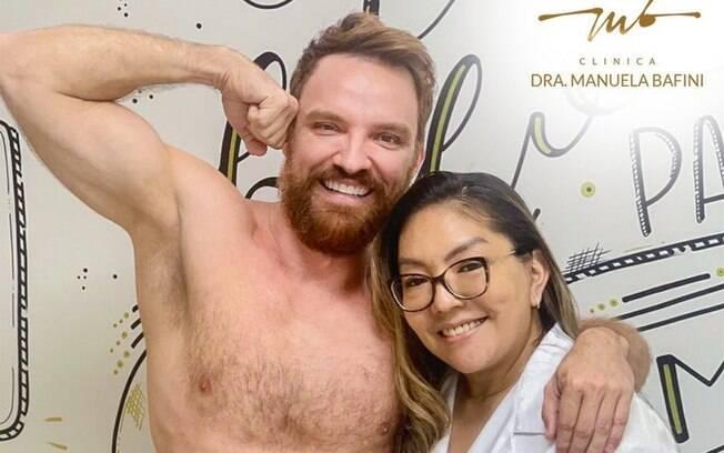 Alex Morenno e Patricia Nakandakari