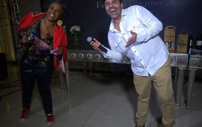 Sandra de Sá e Rodrigo Oliver