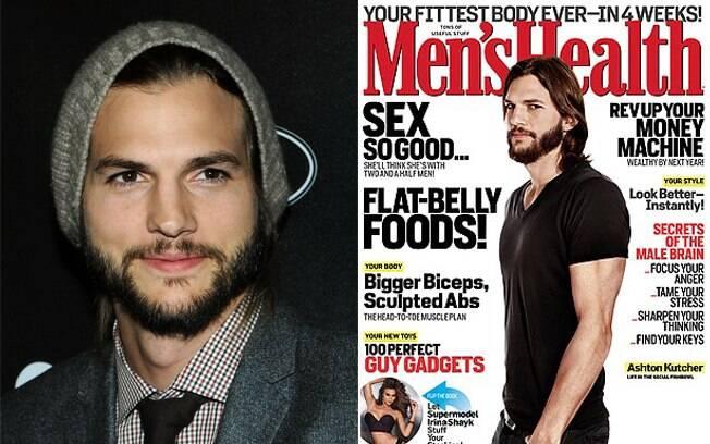 Ashton Kutcher dá declaração à edição de dezembro da Men's Health