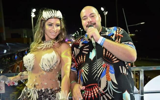 Luana Monalisa e Tiago Abravanel