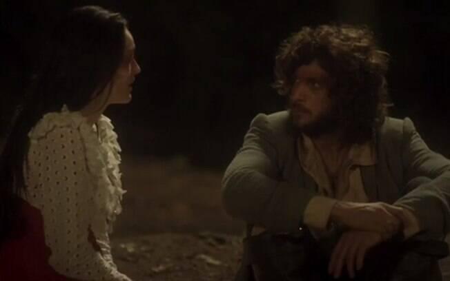 Joaquim se entristece por Anna ter mentido para ele