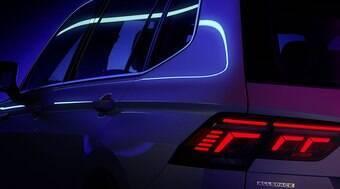VW vai apresentar o SUV Tiguan Allspace 2022 no próximo dia 12