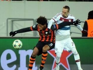 Ribéry protagonizou alguns entreveros com jogadores do Shakhtar