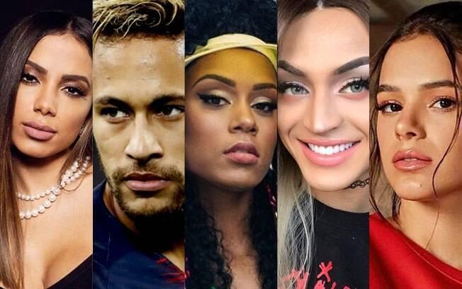 Anitta, Neymar, MC Rebecca, Pabllo Vittare Bruna Marquezine