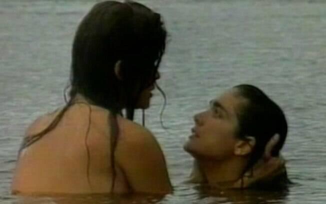 Cristiana Oliveira e Andréia Richa em cena de