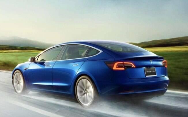 A Tesla começa vender o Tesla Model 3 na Europa que poderá chegar no Brasil na metade da próxima década