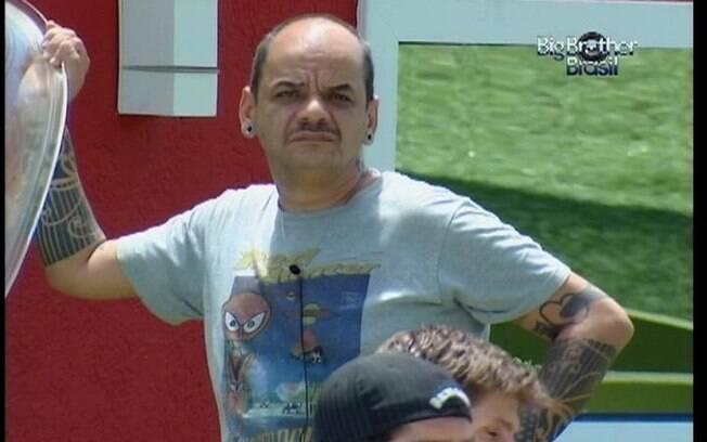 João Carvalho votou em Yuri no último Paredão