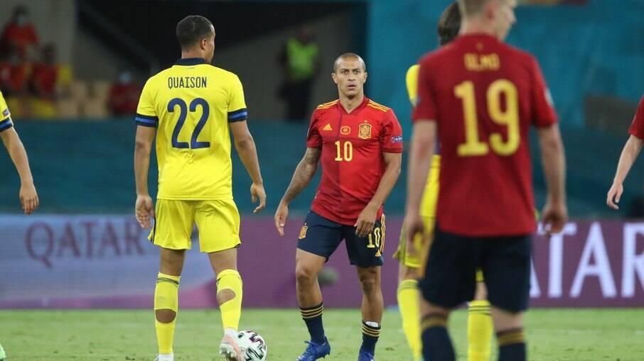 Espanha e Suécia ficam no empate na Eurocopa